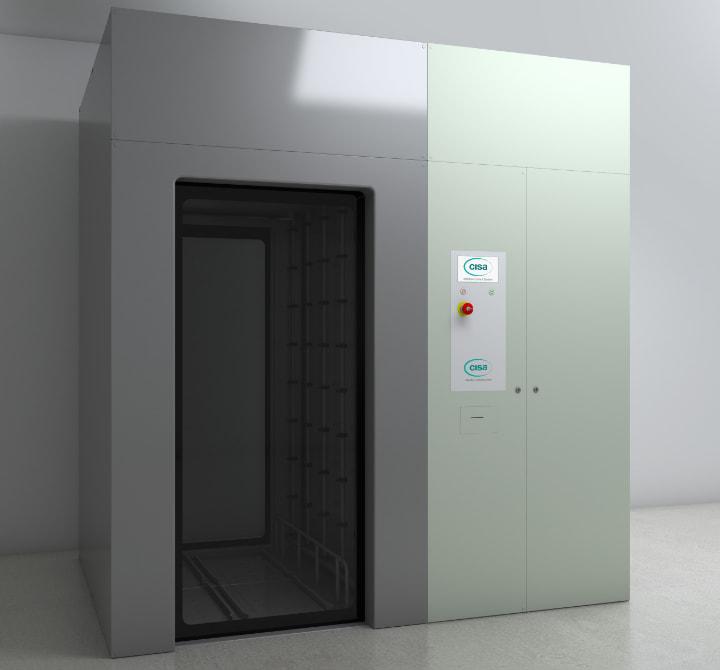 Tunel pentru spălare și dezinfectare